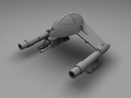 A Star Wars Imperial fighter from Dark Empire.